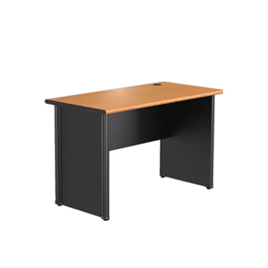 OFFICE TABLE 1/2 BIRO<br>TYPE : CST - 1062<br>SIZE : 120 X 60 X 75 CM<br>COLOUR : BEECH - BLACK