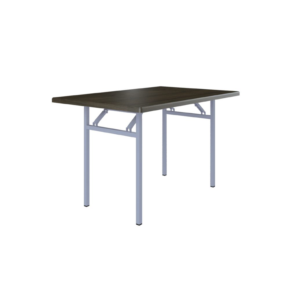 FOOD COURT TABLE<br>TYPE : FOLDING TABLE<br>SIZE : 120 X 80 X 75 CM<br>COLOUR : BROWN