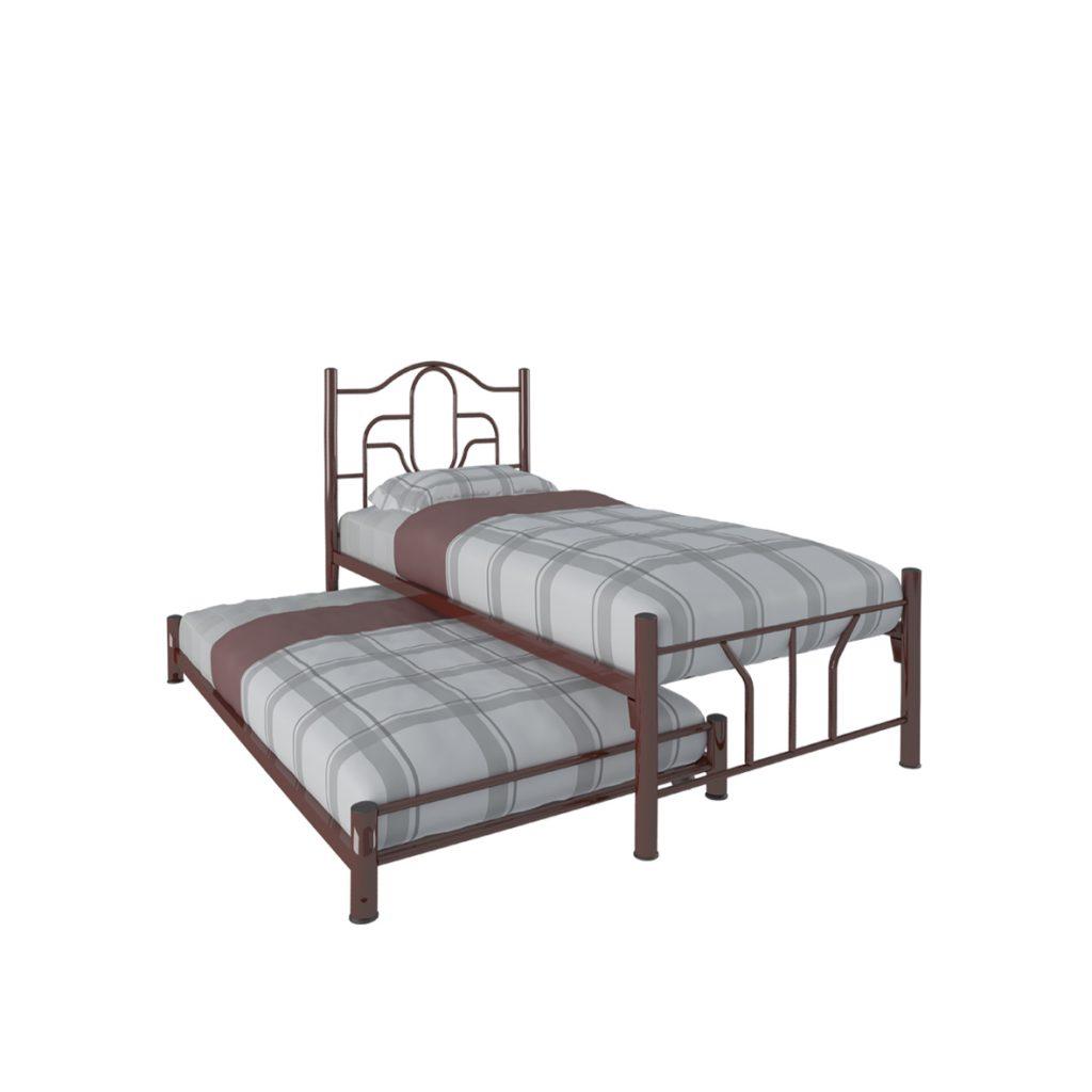 SINGLE BED<br>TYPE : JUPITER<br>SIZE : 97 X 210 X 103 CM<br>COLOUR : MAROON<br>SINGLE BED<br>TYPE : PLUTO<br>SIZE : 97 X 190 X 21 CM<br>COLOUR : MAROON