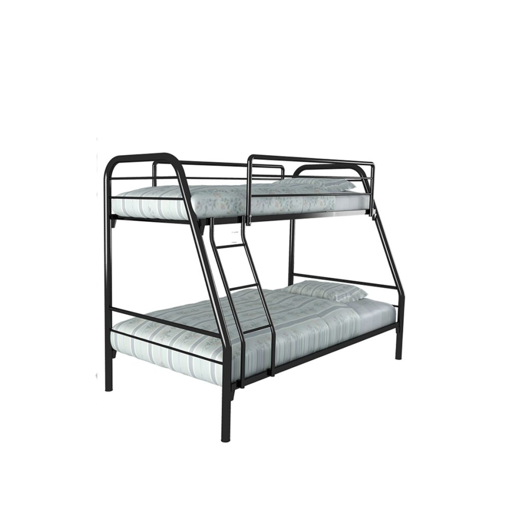 BUNKBED<br>TYPE : NEW MARS<br>SIZE : 125 X 210 X 175 CM<br>COLOUR : BLACK
