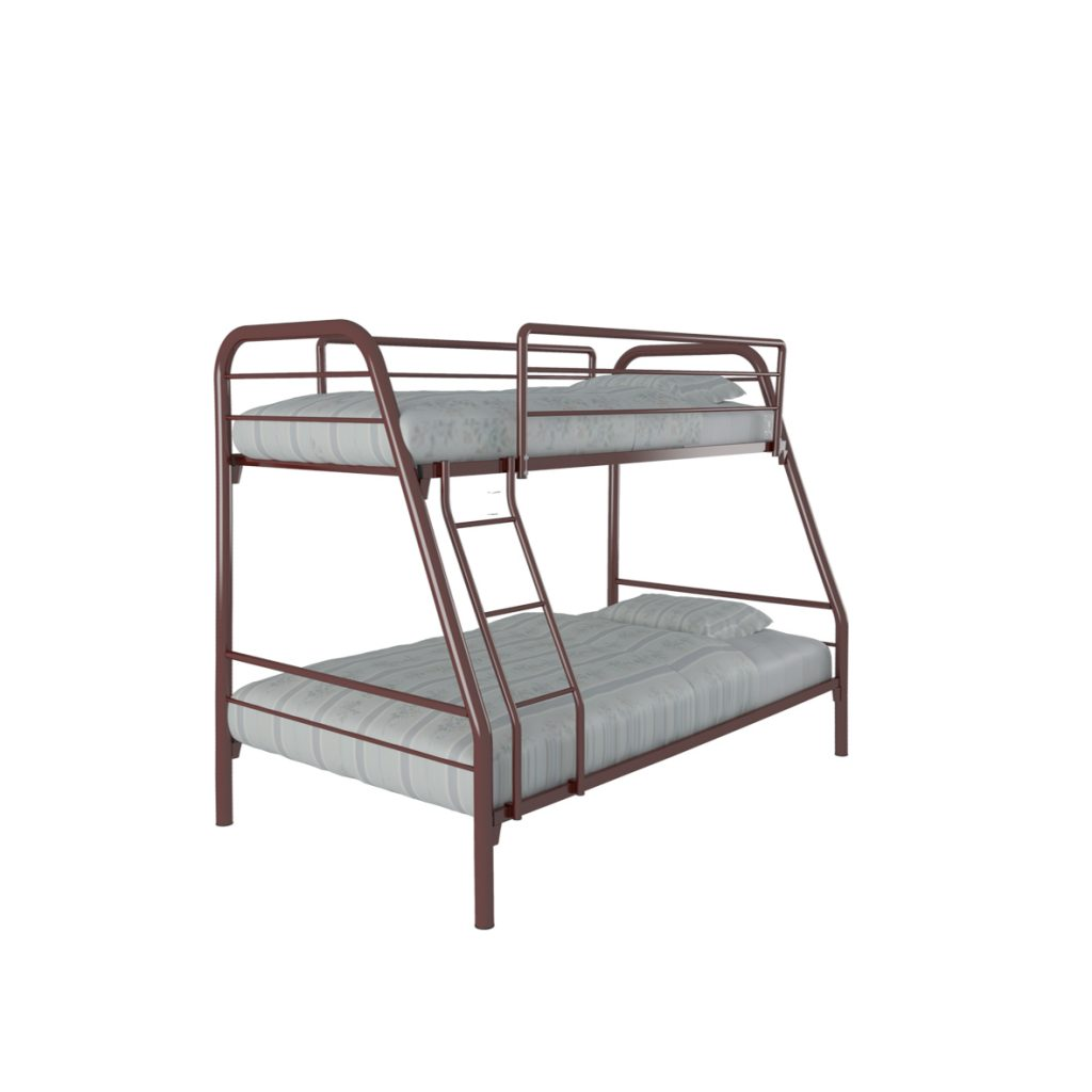 BUNKBED<br>TYPE : NEW MARS<br>SIZE : 125 X 210 X 175 CM<br>COLOUR : MAROON