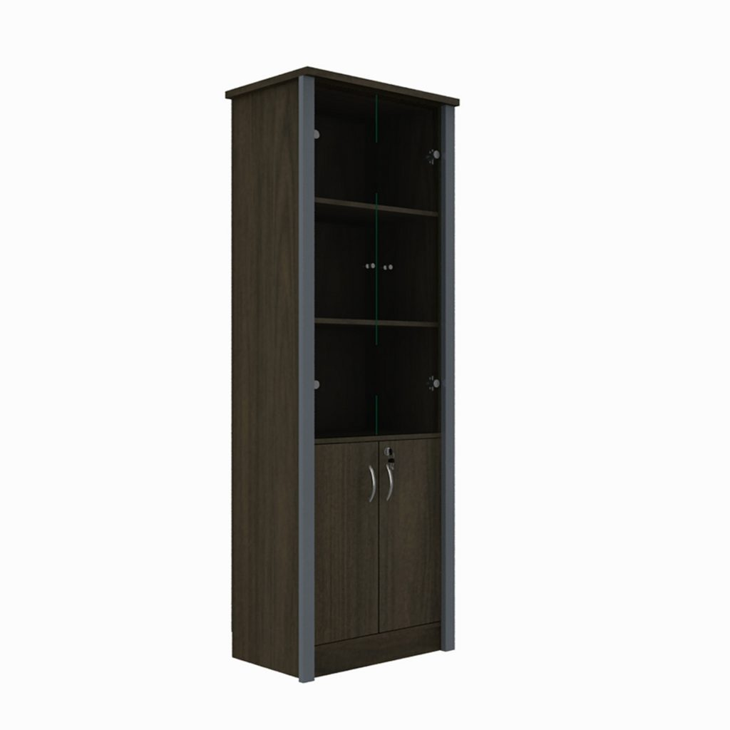 HIGH CABINET<br>TYPE : OSR - 1060<br>SIZE : 60 X 40 X 180 CM<br>COLOUR : BROWN