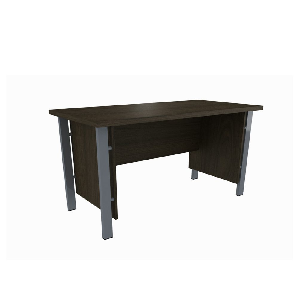 OFFICE TABLE 1/2 BIRO<br>TYPE : OST - 1062<br>SIZE : 120 X 60 X 75 CM<br>COLOUR : BROWN