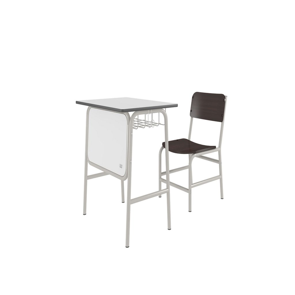 STUDENT DESK<br>TYPE : SK - 01<br>SIZE DESK : 64,5 X 44,5 X 64 CM<br>SIZE CHAIR : 39,5 X 36,7 X 65,5 CM<br>COLOUR : WHITE + BIEGE